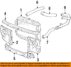 toyota oem 88 89 4runner 3 0l v6 radiator upper hose 1657165010 ebay rh ebay com 1995 Toyota 4Runner V6 Engine Toyota 4Runner with V6