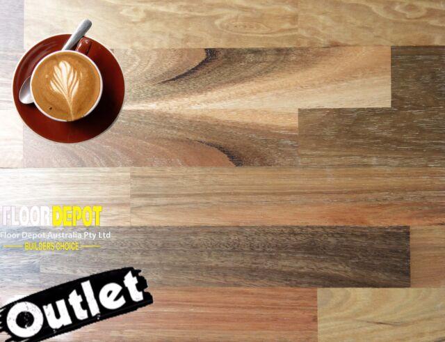 Quality Spotted Gum 3 strip Engineered Timber Floors Hardwood Flooring 50% off