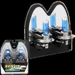2x h7 100w 6000k xenon hid halogen car light white. Black Bedroom Furniture Sets. Home Design Ideas