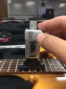 bass guitar string action gauge nut slotting string height digital. Black Bedroom Furniture Sets. Home Design Ideas