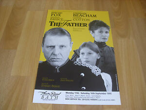 The-FATHER-Edward-Fox-Stephanie-Beacham-Theatre-Royal-BATH-Original-Poster