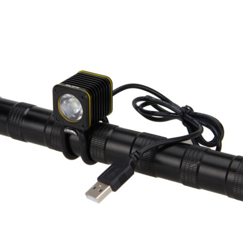 Waterproof USB 5000lm 4 modes XM-L T6 LED Bicycle Light Head Bike Torch Lamp A