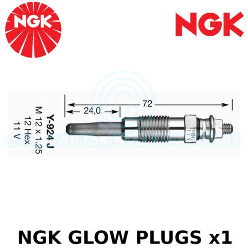 For Citroën XM Y4 Estate 2.5 TD NGK Glow Plug 1994-00