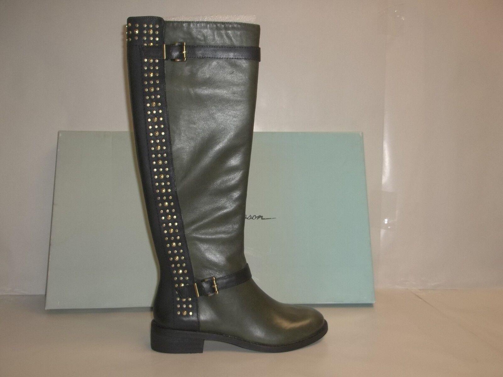 Jessica Simpson Größe 5.5 M ELLISTER Fatigue Leder Stiefel NEU Damenschuhe Schuhes