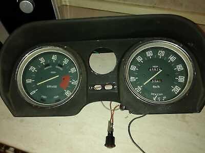 Abile Quadro Strumenti Jager Alfa Romeo Giulia Super 1.3 / 1.6 / Biscione