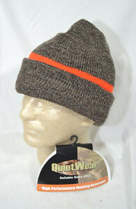 9884e668f17 Image is loading QuietWear-Reversible-Knit-Reversible-Beanie-Warm- Cap-Hunters-