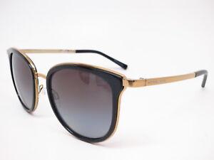 dca06e524d3 Michael Kors MK 1010 Adrianna I 1100T3 Black Gold w Grey Gradient ...