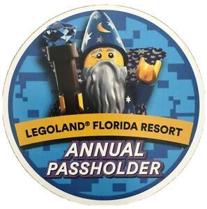 LEGOLAND Florida Resort Annual Passholder Magnet Pass LEGO ...