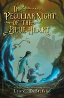 The Peculiar Night Of The Blue Heart on sale