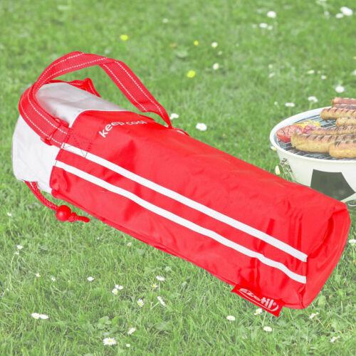 Refrigeración bolsillos botellas 2 l camping Thermo camilla bolsa aislamiento azul rojo naranja