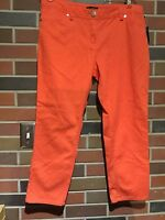 Willi Smith Melon Capri Pants, Size 10,