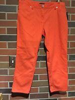 Willi Smith Melon Capri Pants, Size 10,