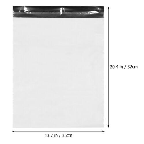 100 x Versandtaschen Versandbeutel Versandtüten Bag Coex Plastik Beutel Weißer