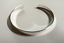 Cuff Bracelet Blank Bangle Silver Plated Connector Holes Metal Stamping Copper
