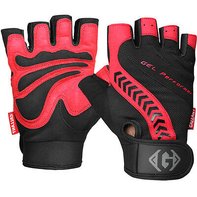 Gallant Weight Lifting Body Exercise Fitness Gym Gloves Training Leather Padded