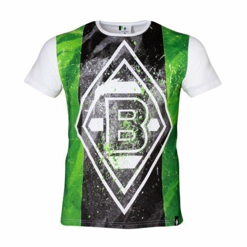 "T-Shirt BORUSSIA MÖNCHENGLADBACH /""PAINT WHITE/""  GR 3XL NEUE KOLLEKTION ORIGINAL"