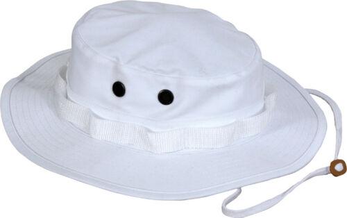 Tactical Boonie Hat Military Camo Bucket Wide Brim Sun Fishing Bush Booney Cap