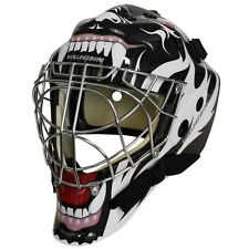 Vaughn 7700 Goal Sr Cat Eye goalie helmet senior large hockey mask Tribal Animal