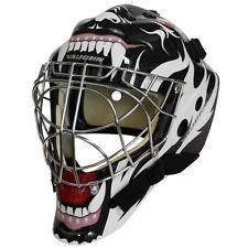 024b4901725 Vaughn 7700 Goal SR Cat Eye Goalie Helmet Senior Small Hockey Mask Tribal  Animal