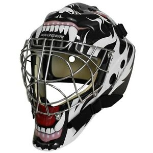 Vaughn 7700 Goal Sr Cat Eye Goalie Helmet Senior Small Hockey Mask