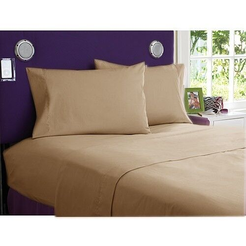 Luxury King Size 4 pc Bedding Sheet Set 1200 Thread Count 100/%Egyptian Cotton