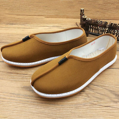 buddhist Monks shoes shaolinkung fu Lay meditation arhat shoes yellow//grey//brown