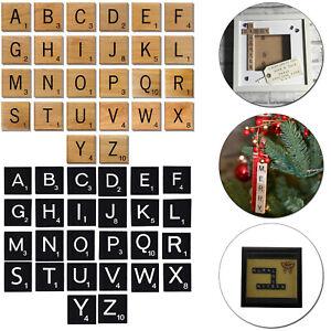 10pcs-Holz-Scrabble-Alphabet-Buchstabe-Individuel-Steine-fuer-Basteln-Spiel-Quiz