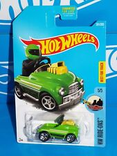 PEDAL DRIVER #301✰Green//yellow//chrome;5sp✰HW Ride-Ons✰2017 i Hot Wheels case N//P