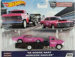 Hot-Wheels-2020-cultura-coche-transporte-de-equipo-68-Dodge-Dart-horizonte-Hauler-Camion