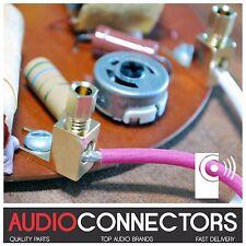 4 x Y Fork Spade - Vintage screw terminal connector for JR149 Rogers Speaker Amp
