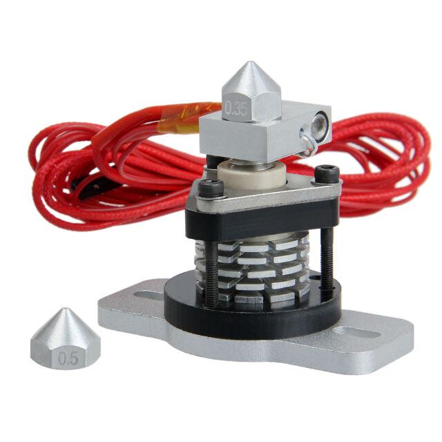 Reprap Hotend V2.0 0.35mm & 0.4mm nozzle 3mm filament 3D printer Prusa Mendel
