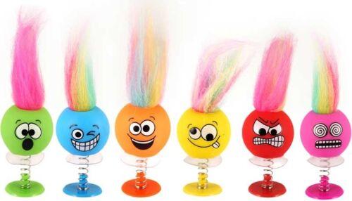 6 x Smiley Emoji style Kids Party Kids Goody Bag Birthday Loot Stocking Fillers