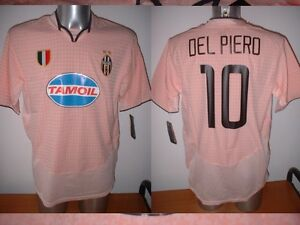 ff75bb970 Juventus Del Piero BNWT Large Nike Code7 Shirt Jersey Soccer Maglia ...
