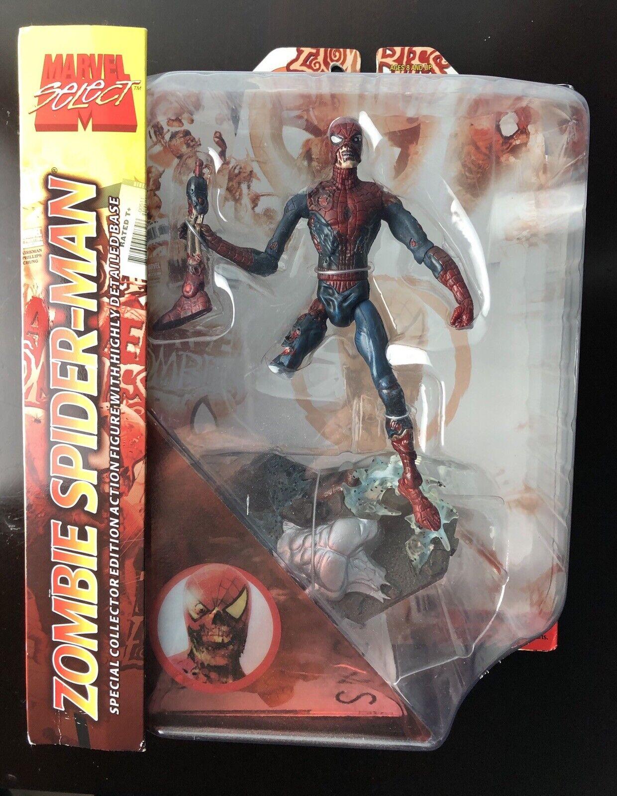 ZOMBIE SPIDERuomo Marvel Select specialee Collectors edizione azione cifra 2007