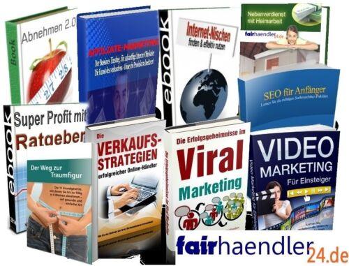 PAKET 10 hochwertige eBOOKs VIDEO SUPER PROFIT E-BOOKS Package Master GEIL MRR
