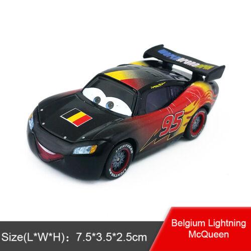 Disney Pixar Cars No.95 Lightning McQueen Jouet Voiture 1:55 Diecast Modèle Garçons Cadeau
