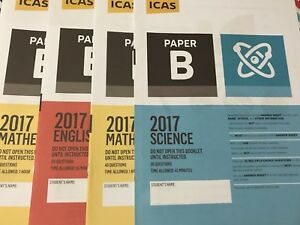 ICAS Past Papers - Year 2, 3, 4, 5, 6, 7, 8, 9, 10 -  Any of 20 papers