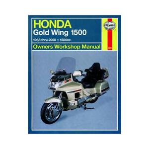 Haynes-Motorcycle-Repair-Manual-for-Honda-GL-1500-Gold-Wing-1988-2000