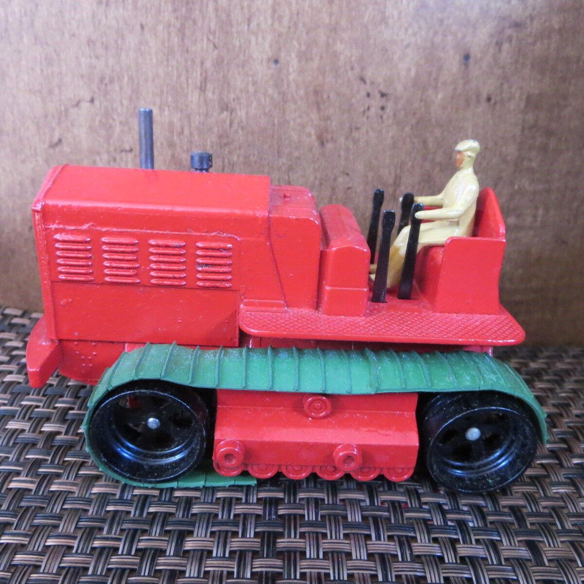 Rare Dinky Toy Heavy Tractor in Original Box Excellent Condition Vintage