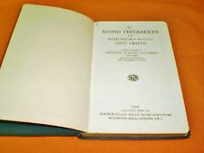 il nuovo testamento traduzione di giovanni diodati lucchese 1949