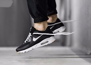 online retailer 2f32c 14937 Details about Nike Air Max 90 Ultra Essential Black White 819474 010 Mens  Sz 12.5