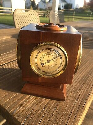 Vintage Wuersch Weather Station Clock
