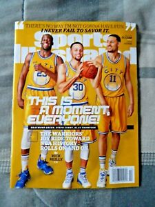 Sports Illustrated March 7, 2016 Golden State Warriors Stephen Curry (Klay Thomp