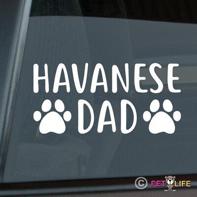 blanquito Havanese Sticker Die Cut Vinyl