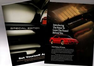 2001 pontiac grand prix special edition brochure twin dual cam flyer gtp ebay ebay