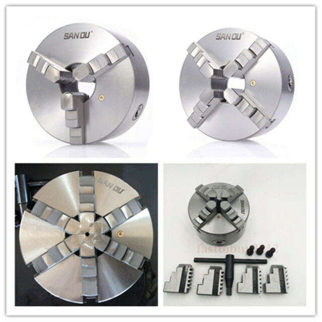 Diameter 50 mm 3 jaws Self Centering Small Chuck for Rotary Table M12 x 1 Thread