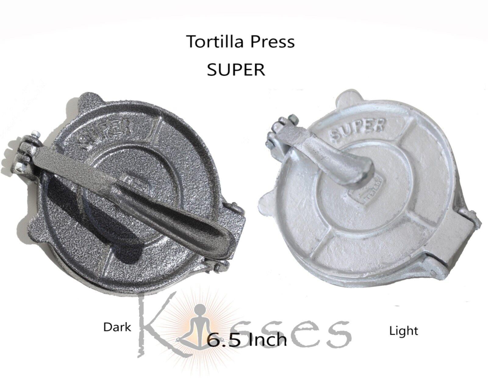 "Nouveau MEXICO fonte Tortilla Press maïs Tortillas tortilladora 6.5/"" pataconera"