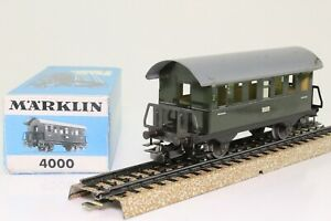 Marklin-4000-h0-voitures-Tonnerre-Boite-2-kl-en-tole-dans-neuf-dans-sa-boite