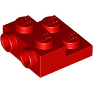 99206 - Choice of Colour and Qty Lego Plate 2X2X2//3 w New 2 Horizontal Knobs