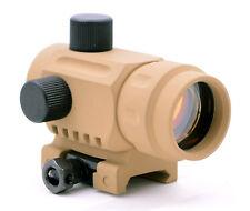 Phantom CQB Polymer Mini Micro Reflex Red Dot Scope Sight RDA20 TAN Picatinny